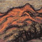 独自の画風貫く日本画家「長崎莫人展」 青梅市立美術館