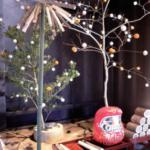 小正月の繭玉飾り 檜原村 小林家住宅