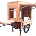 多摩産材屋台がウッドデザイン賞 美光印刷×五ノ神製作所 温もりあるデザインで
